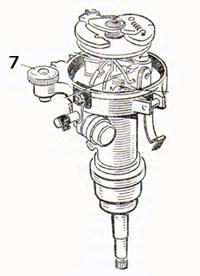 Прерыватель-распределитель зажигания Р-125Б