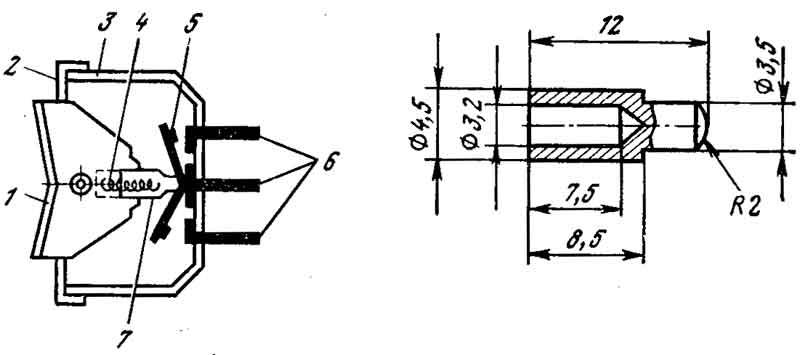 Переключатель вентилятора отопителя