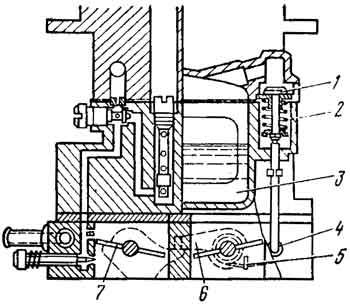 Устройство механизма разбалансировки поплавковой камеры
