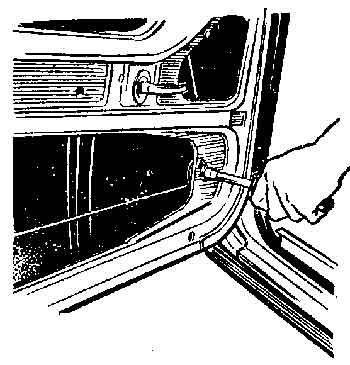 Демонтаж стеклоподъемника