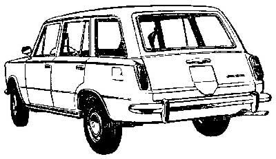 Автомобиль ВАЗ 2102