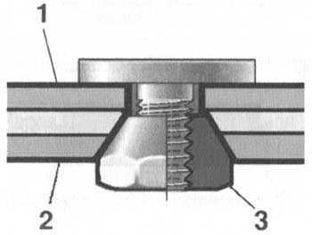 Ремонт крепления переднего амортизатора ВАЗ 2101-2107