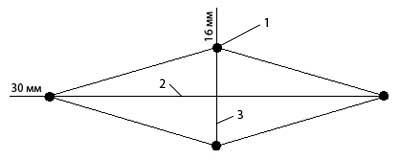 Схема фиксатора упора капота