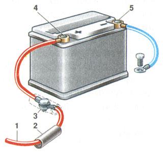Доработка проводов аккумулятора