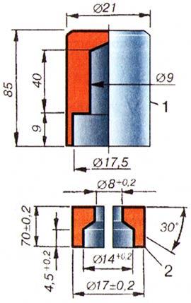 Приспособление для установки маслосъемных (маслоотражательных) колпачков