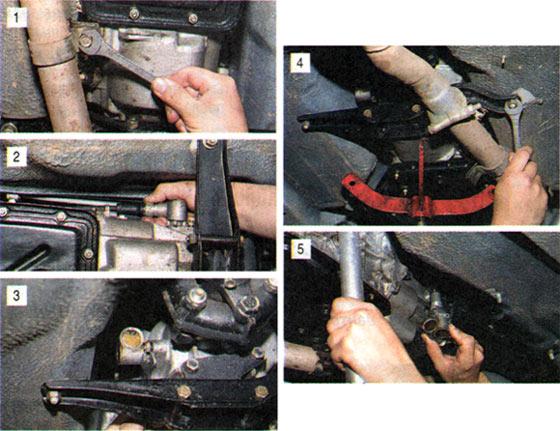 Замена привода спидометра на автомобиле ВАЗ 2101-2107