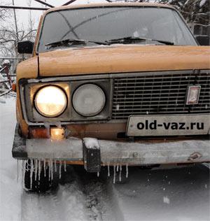 Зима, задний привод, ВАЗ 2106 классика