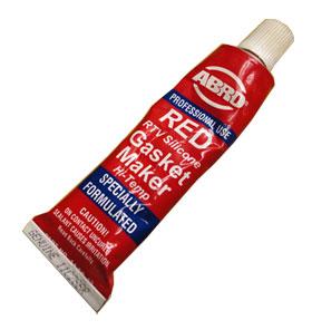Красный силиконовый герметик ABRO