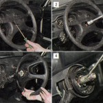Снятие и установка руля (рулевого колеса)